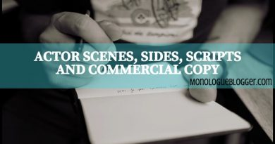 25 Free Actor Scenes, Sides, Scripts and Commercial Copy