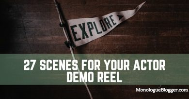 27 Scenes for Your Actor Demo Reel