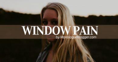 Window Pain Short Scenes for Women