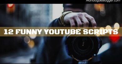 12 Funny Actor Scripts for YouTube Video Creatives