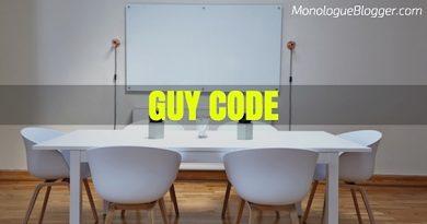 Guy Code Short Comedic Scenes