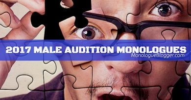 Audition Monologues for 2017  – Male
