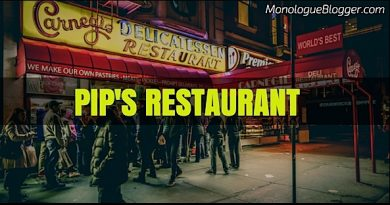 Pip's Restaurant 3 Person Acting Scene