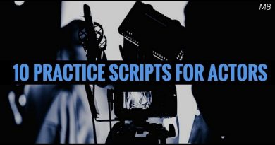 10 Practice Scripts for Actors